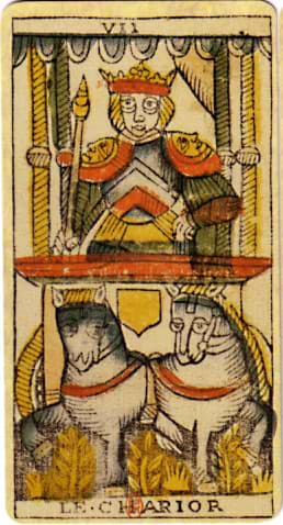 Tarot name meaning 7 The Chariot Jean Dodal